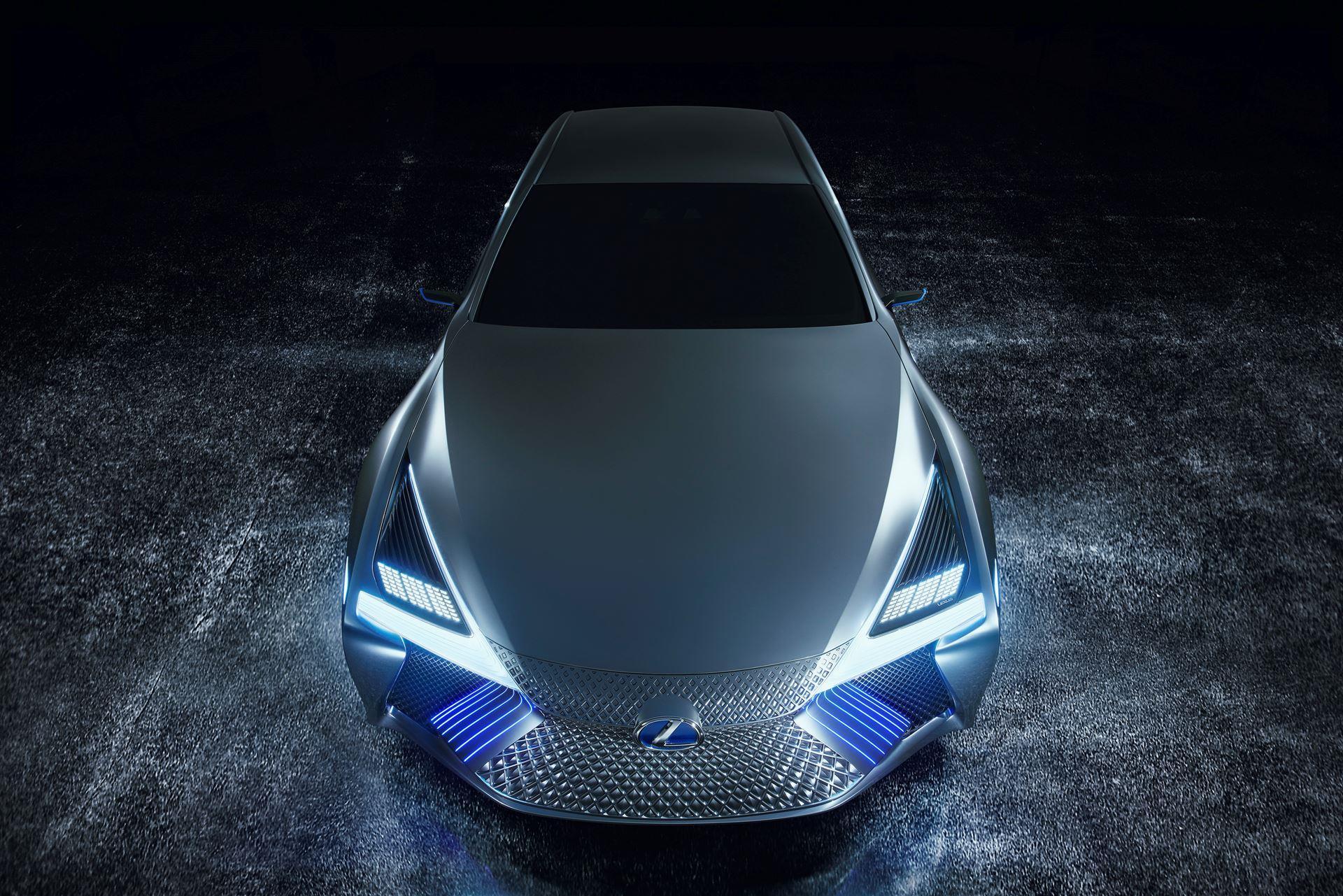 2017 Lexus LS  Concept