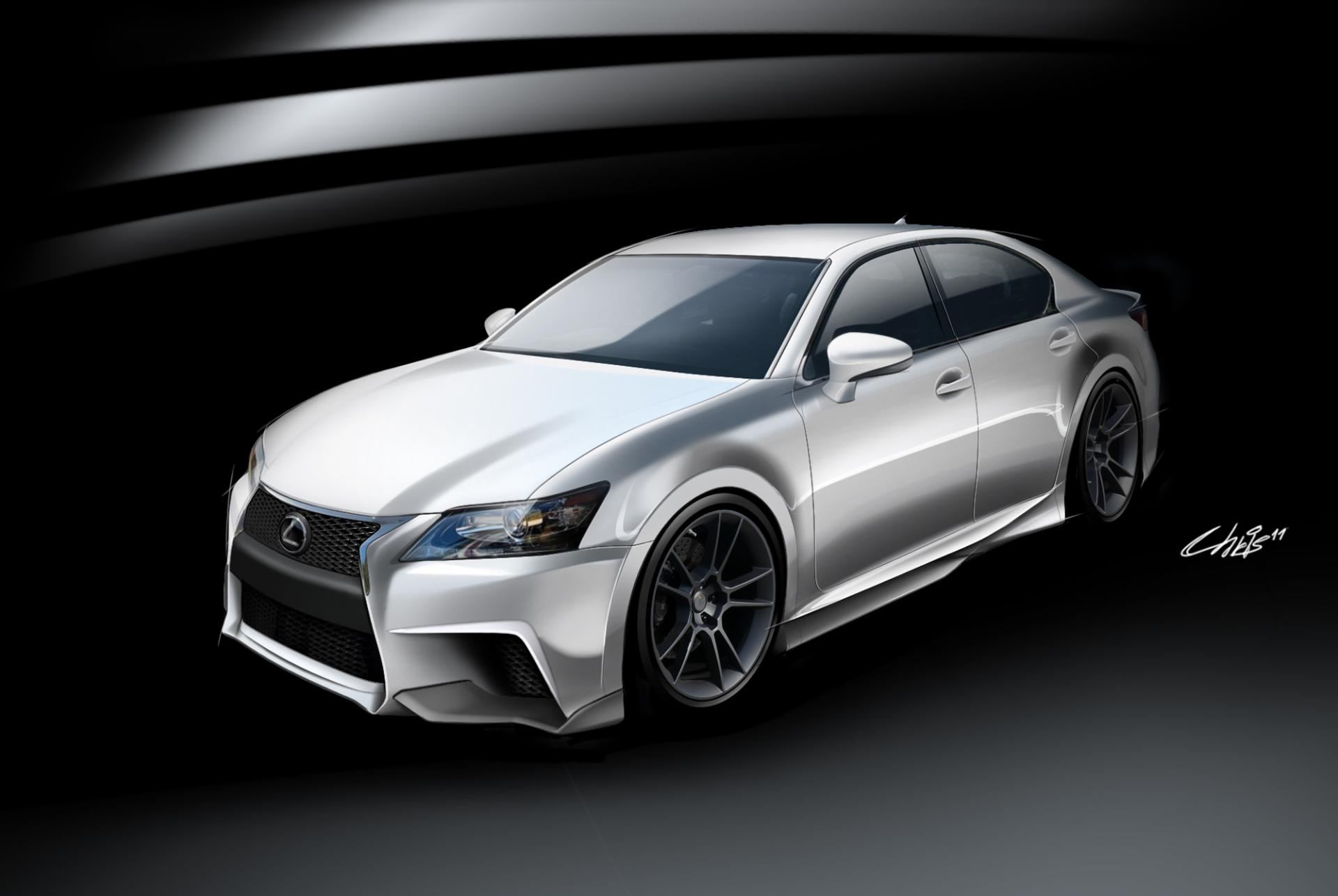 2009 Lexus Gs 350 >> 2011 Lexus Project GS F SPORT by Five News and Information
