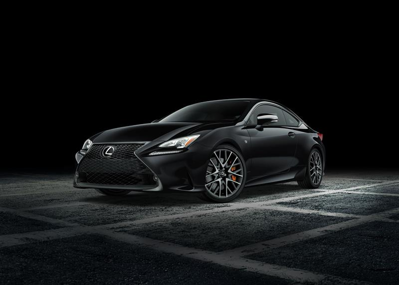 2018 Lexus RC F Sport Black Line Edition pictures and wallpaper