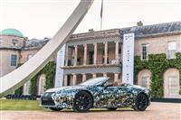 Popular 2019 Lexus LC Convertible Prototype Wallpaper