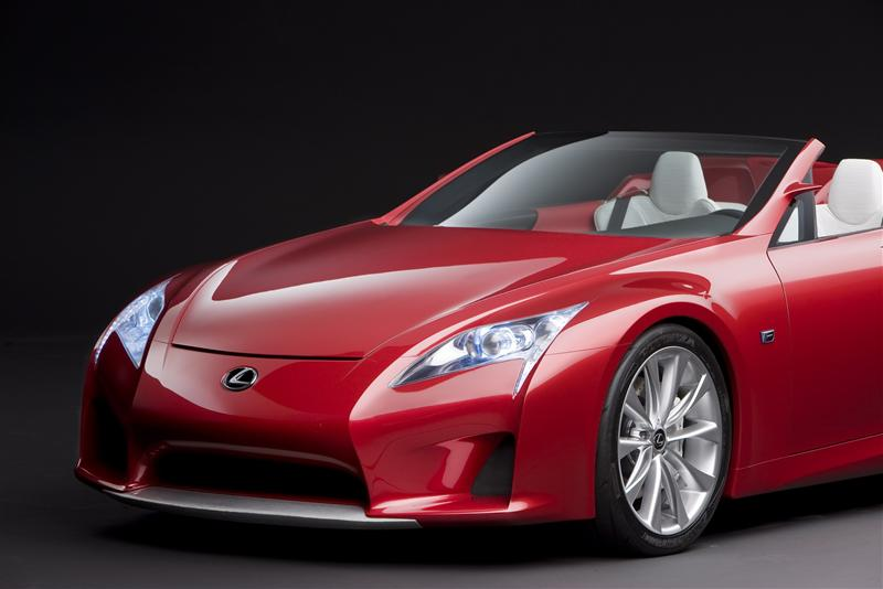 2008 Lexus LF-A Roadster Concept Wallpaper and Image Gallery