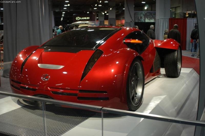 2002 Lexus Minority Report Concept Image Photo 5 Of 25