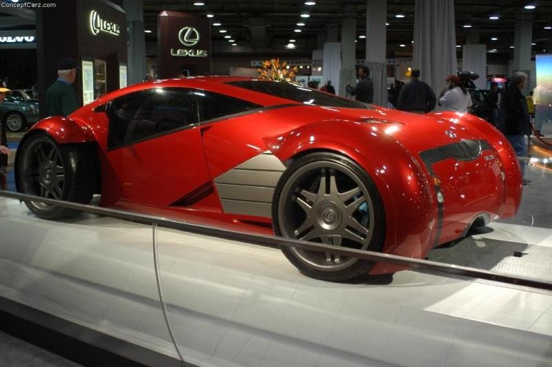 2002 Lexus Minority Report Concept Image Photo 4 Of 25