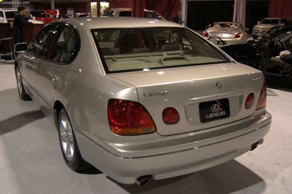 2002 Lexus Gs Pictures History Value Research News