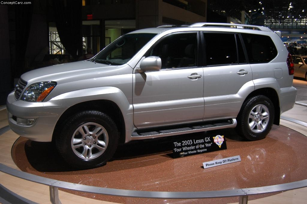 auction results and sales data for 2003 lexus gx 470. Black Bedroom Furniture Sets. Home Design Ideas
