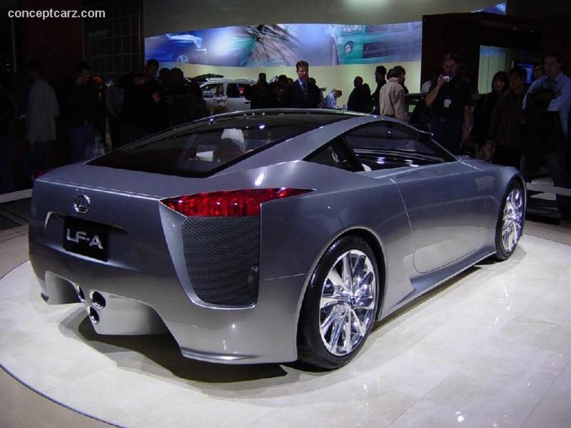 2005 Lexus LF-A Concept History, Pictures, Value, Auction Sales ...