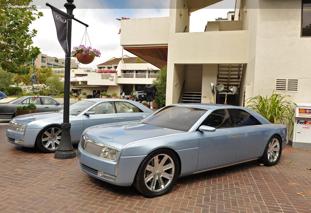 2002 lincoln continental concept car