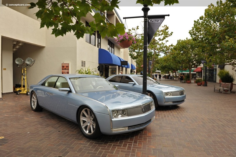 2002 Lincoln Continental Concept chassis information.