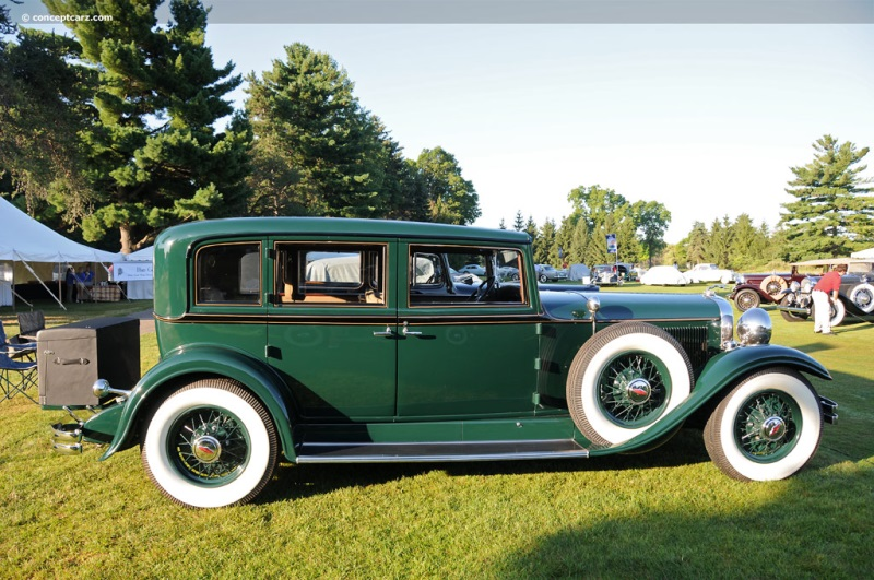 1931 Lincoln Model K Chassis Information