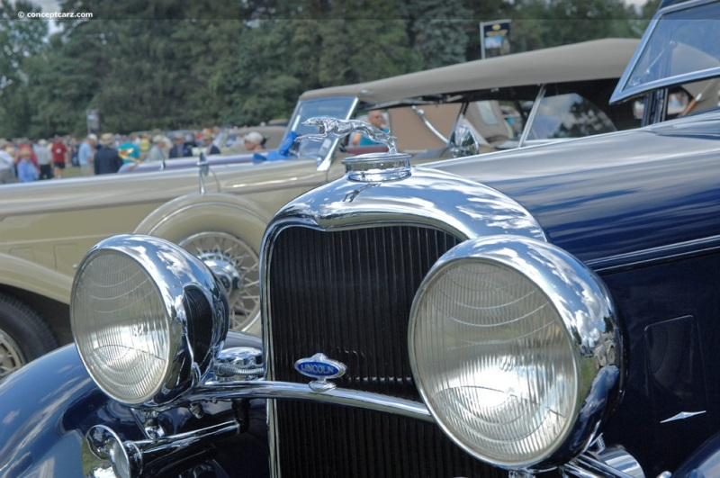 1932 lincoln model kb at the meadow brook concours d 39 elegance for Cadillac motor car company