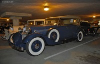 1933 Lincoln Model KB.  Chassis number KB2178
