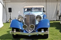 1933 Lincoln Model KB.  Chassis number KB 2284