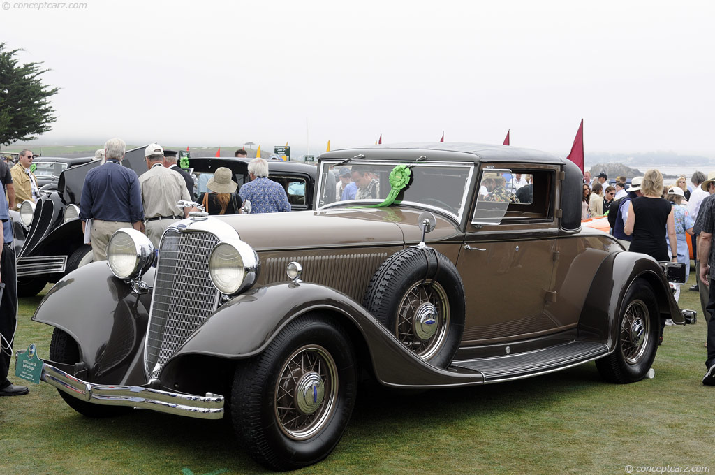 1933 Lincoln Model Kb Image