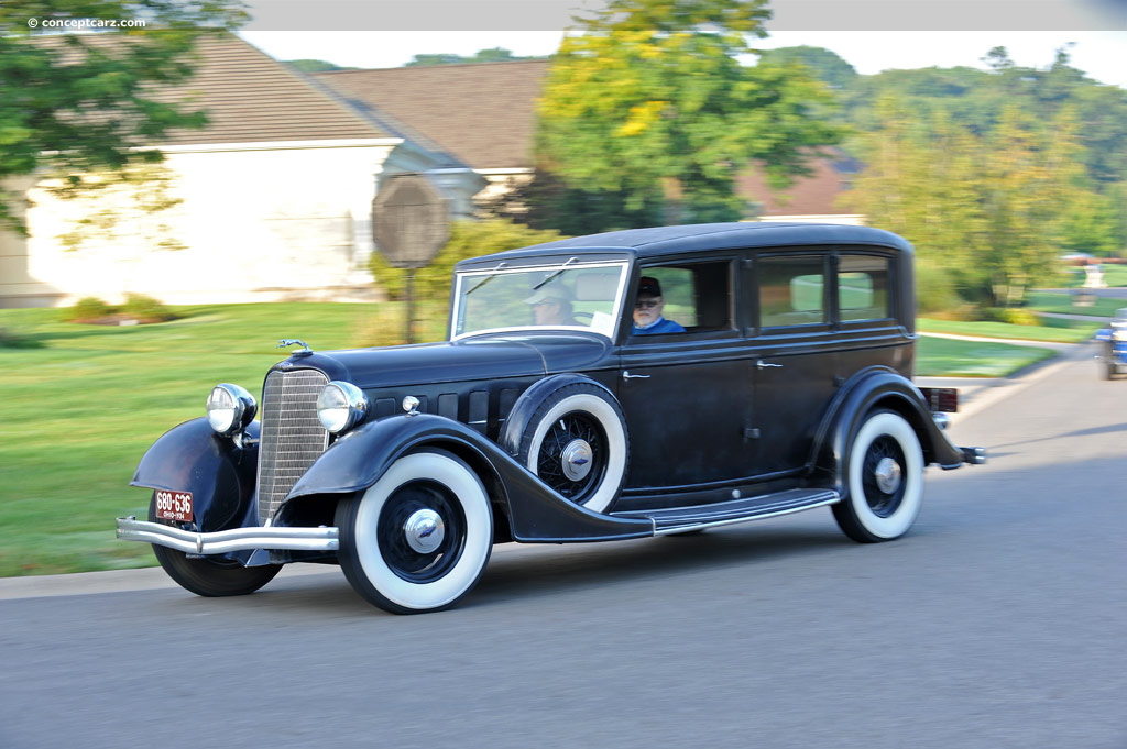 1934 Lincoln Model KB Series 271 Pictures, History, Value ...