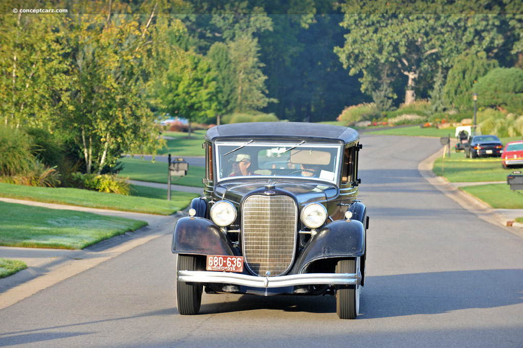 Auction results and sales data for 1934 Lincoln Model KB Series ...