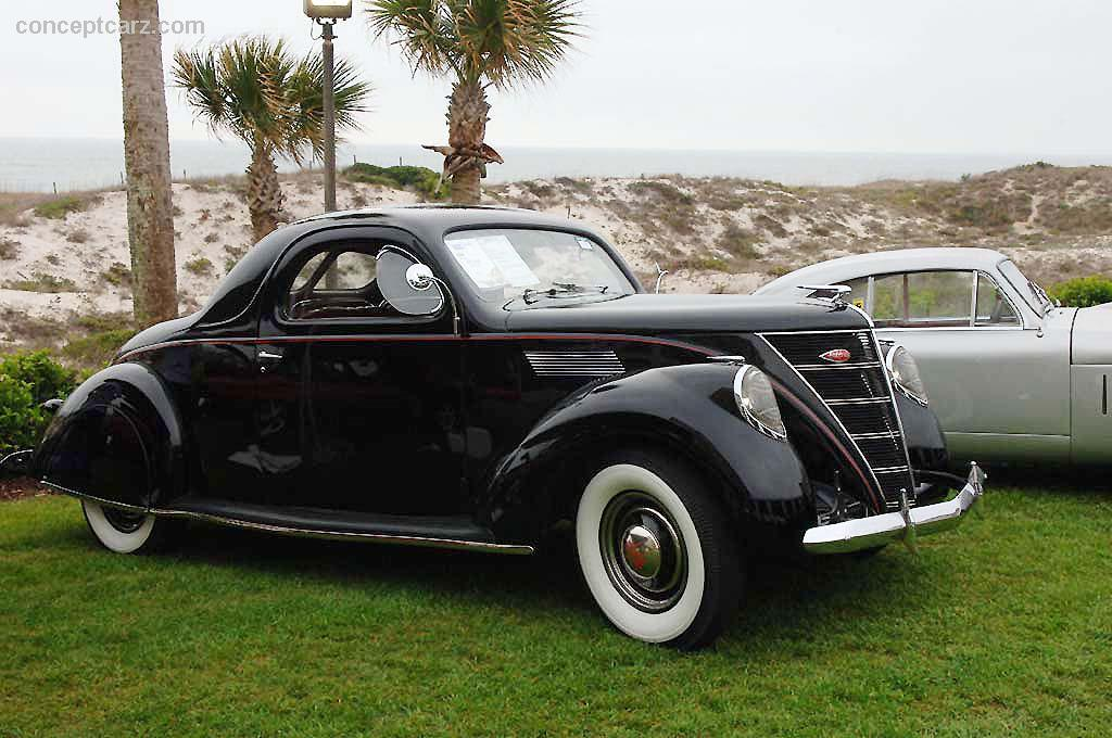 1937 Lincoln Zephyr Image Chassis Number H40716