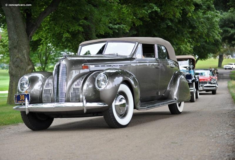 1938 Lincoln Model K Convertible Sedan Vehicle Profile