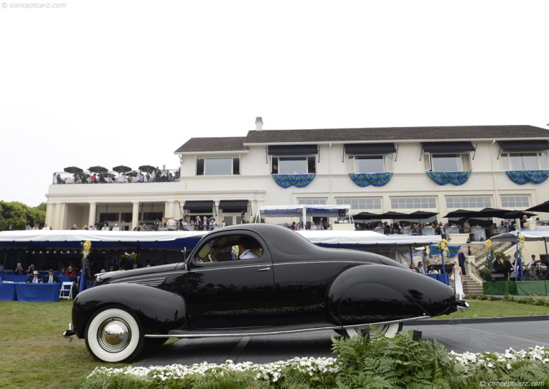 1938 Lincoln Series 86h Zephyr History Pictures Value Auction