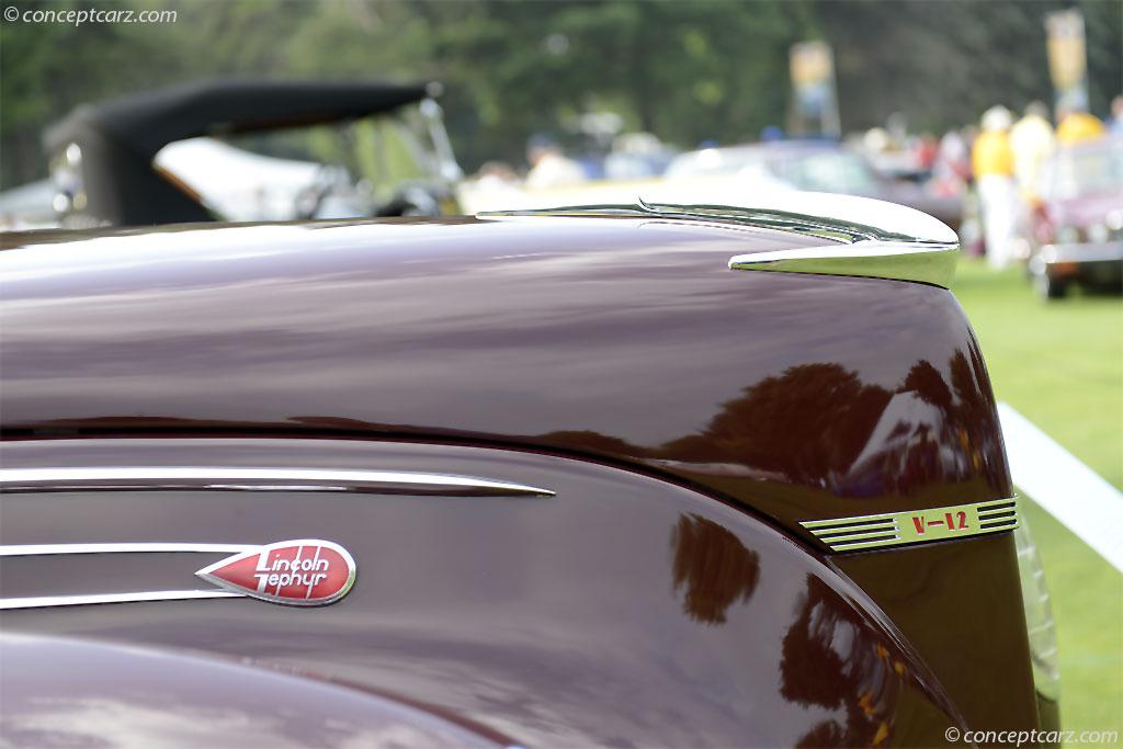 1939 Lincoln Zephyr Series 96H