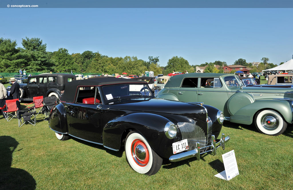 1940 lincoln continental image photo 23 of 87. Black Bedroom Furniture Sets. Home Design Ideas