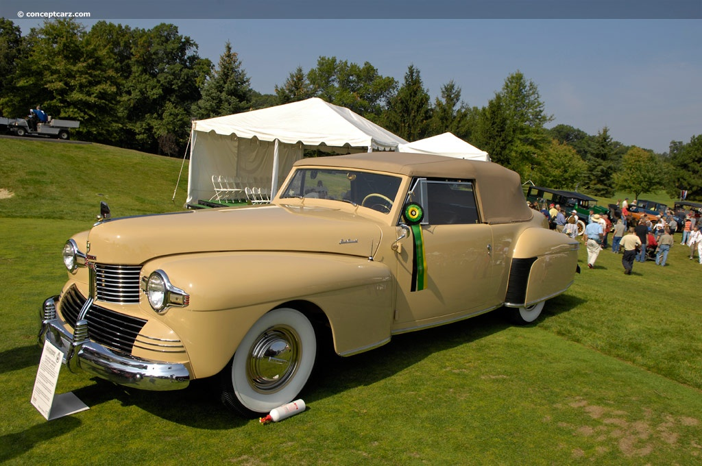 1942 Lincoln Continental History Pictures Value Auction
