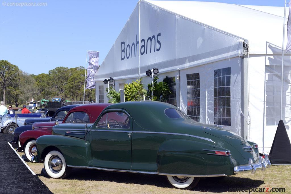 Auction Results And Sales Data For 1942 Lincoln Zephyr