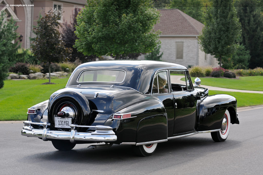 1947 Lincoln Continental History Pictures Value Auction S Research And News