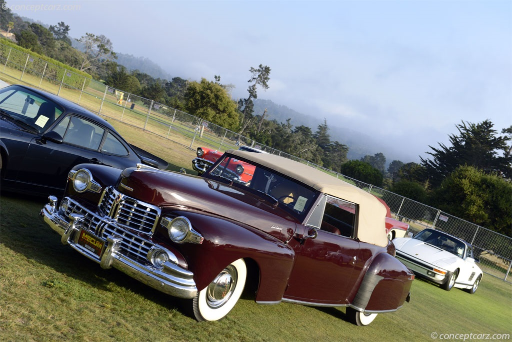 1948 Lincoln Mark I Continental.  Chassis number 8H177461
