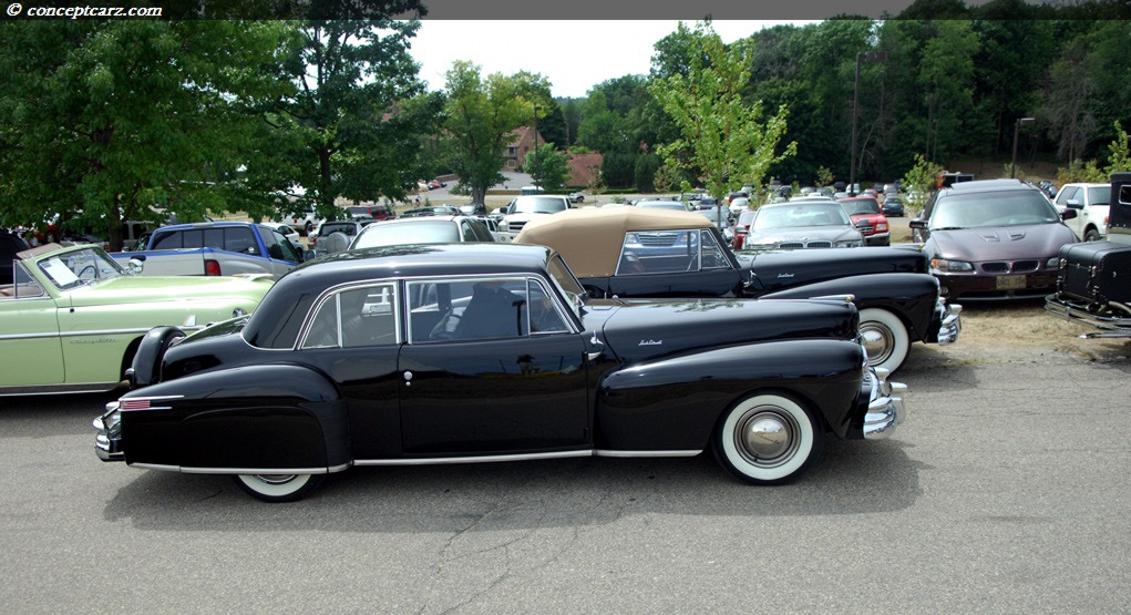 1948 Lincoln Mark I Continental At The Vintage Motor Car