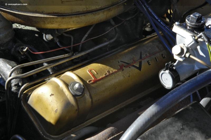 1955 Lincoln Capri