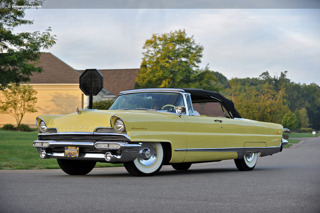 Cadillac Bel Air >> 1956 Lincoln Premiere Image