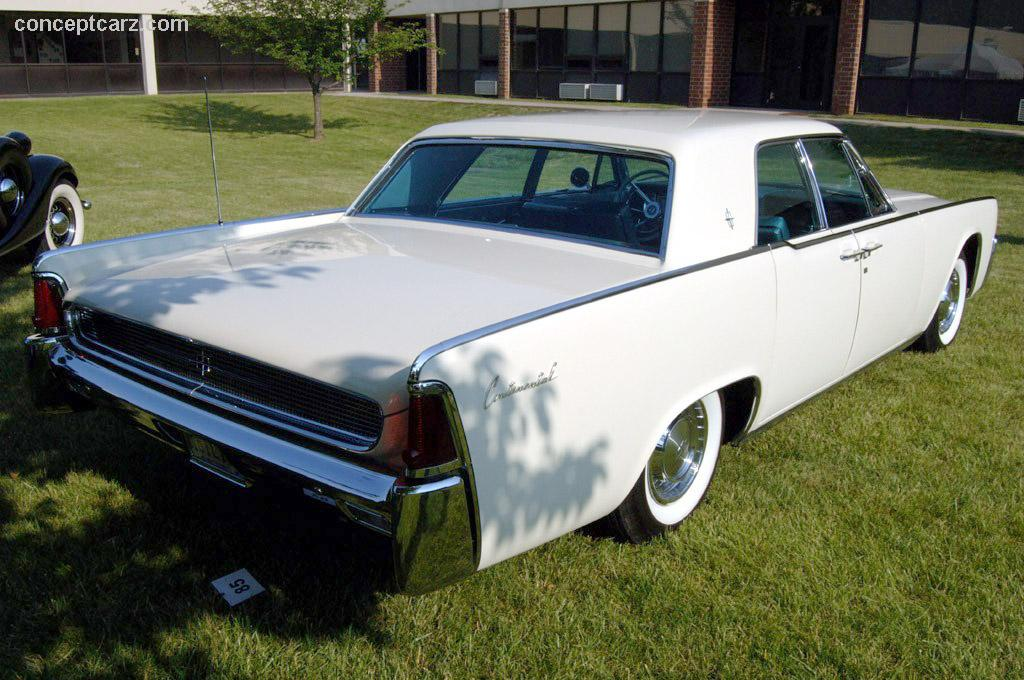 Auction Results and Sales Data for 1961 Lincoln Continental