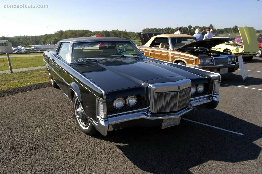 1969 Lincoln Continental Pictures History Value