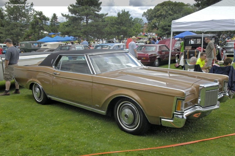 1971 Lincoln Continental Mark III Image. Photo 21 of 23