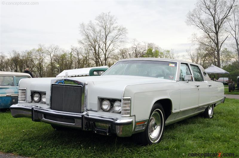 1977 Lincoln Continental chassis information