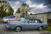 1988 Lincoln Town Car.  Chassis number 1LNBM81F8JY855803