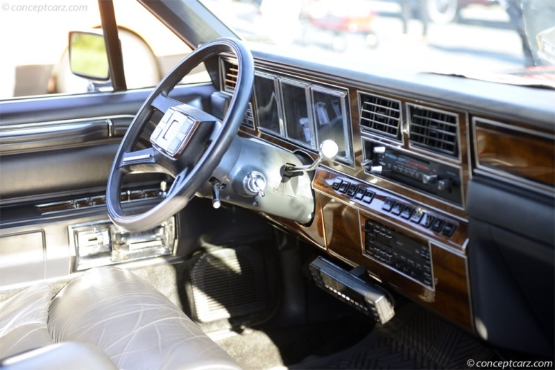 1989 Lincoln Town Car Chassis Information