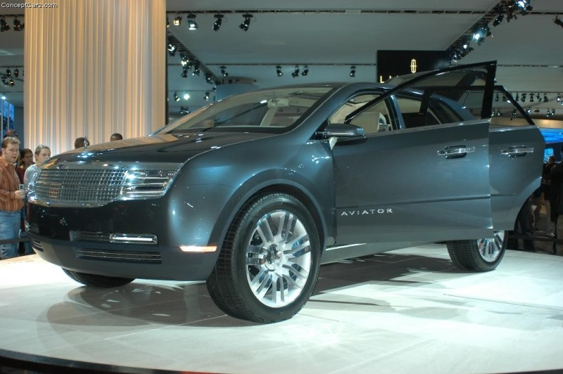 2004 Lincoln Aviator Concept History Pictures Value Auction Sales