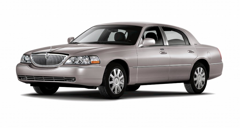 Note The Images Shown Are Representations Of 2007 Lincoln Town Car