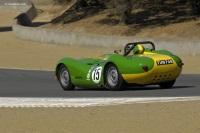1957 Lister Jaguar.  Chassis number BHL-2