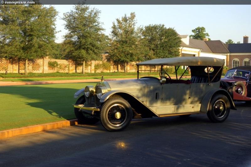 1923 Locomobile 48 Series Viii Image Chassis Number 18345
