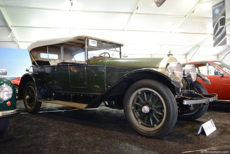 Chassis 19131, engine 19139 1925 Locomobile Model 48 chassis information