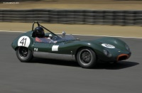 1960 Lola MK1.  Chassis number BR 11/33