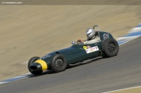 1960 Lola MKII.  Chassis number BRJ3