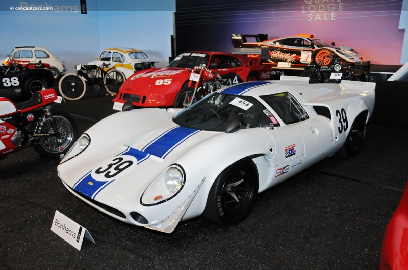 Chassis SL71/39 1966 Lola T70 MKII chassis information