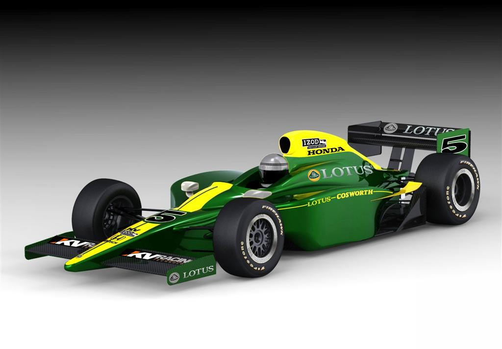 2010 Lotus Cosworth Indy Racer Pictures, News, Research, Pricing ...