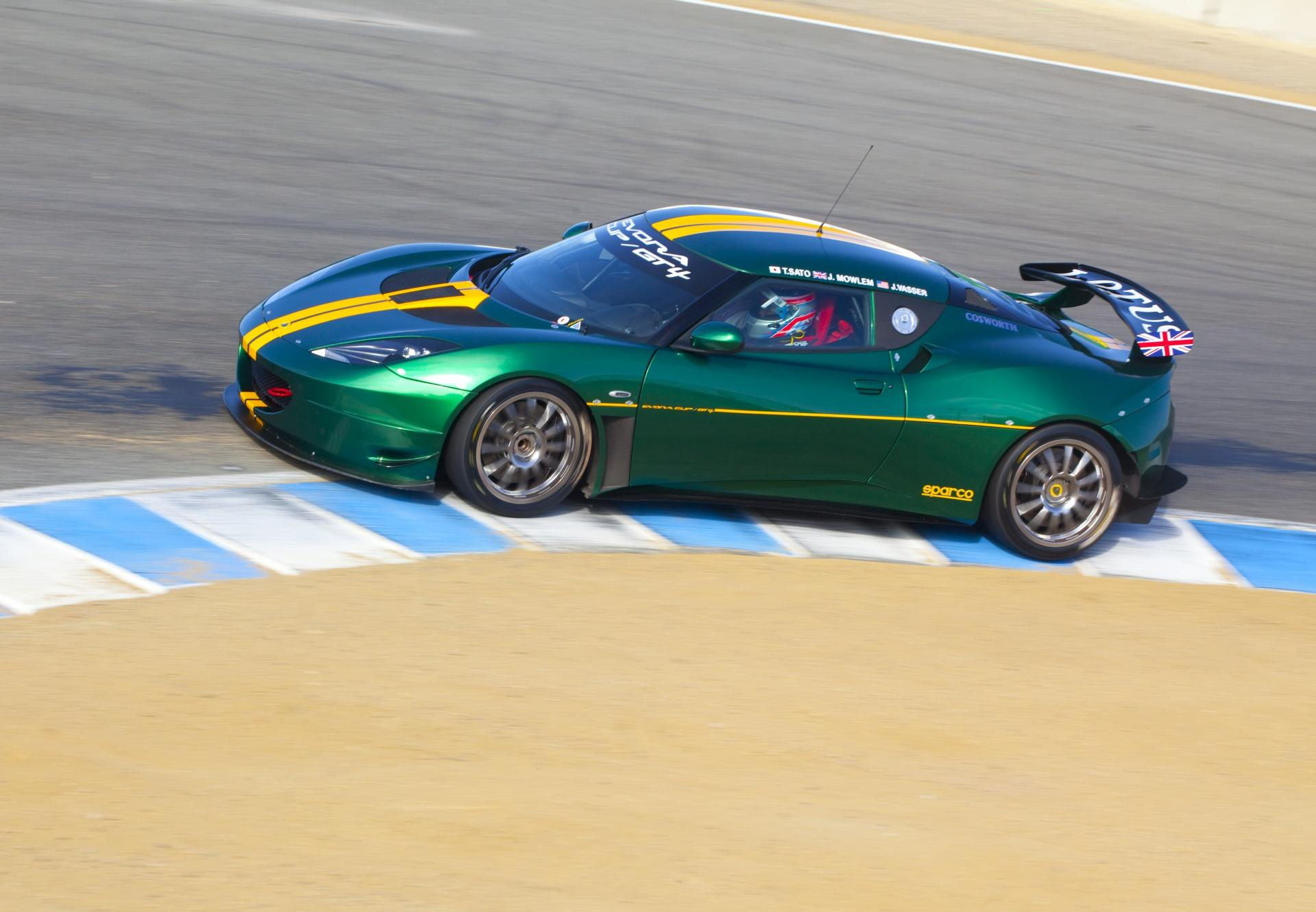 2010 Lotus Evora Cup GT4 Technical and Mechanical Specifications
