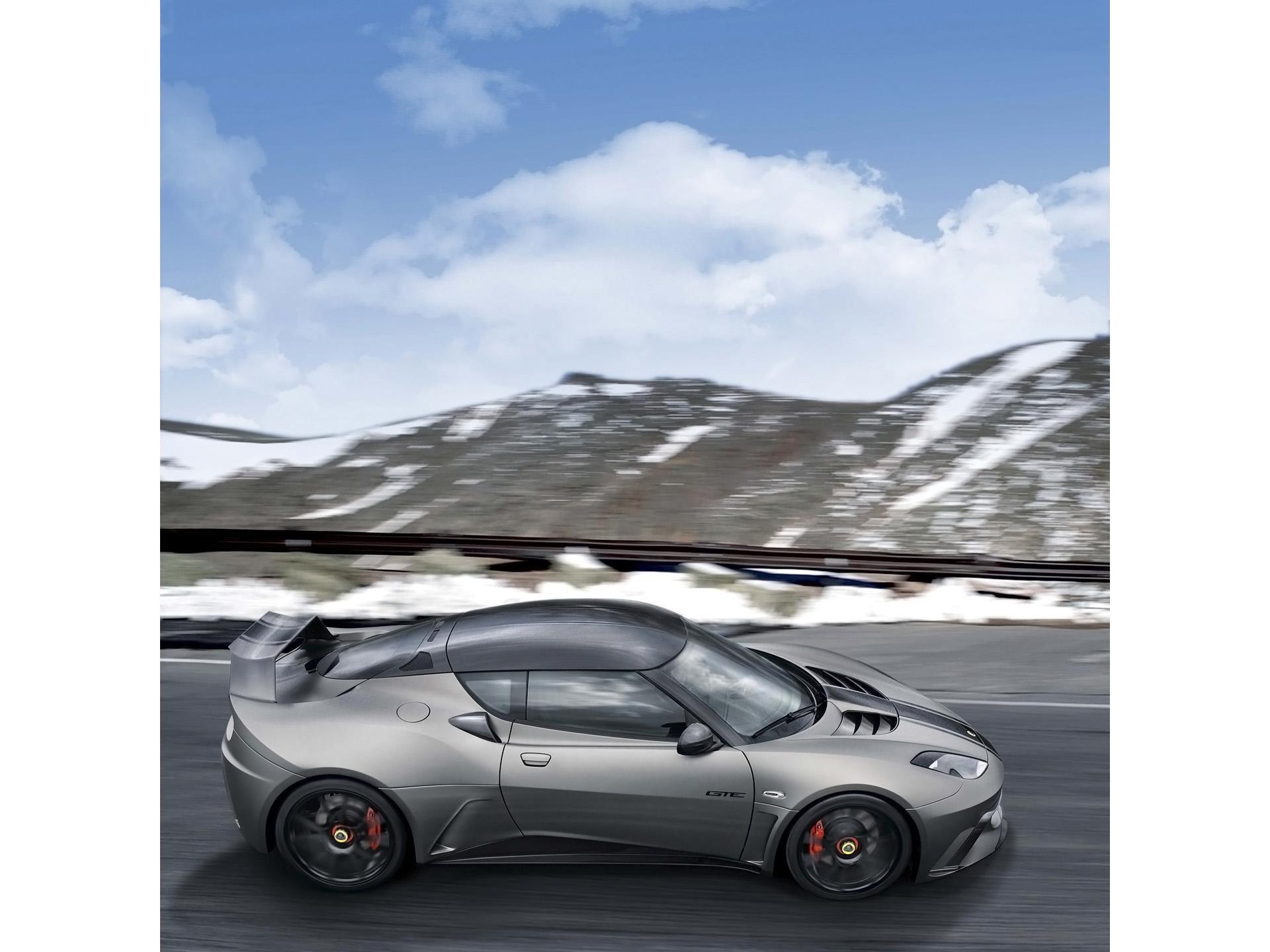 2012 Lotus Evora GTE Road Car Concept
