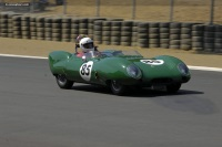 1957 Lotus Eleven.  Chassis number 377