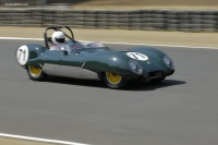 1958 Lotus Eleven Series II.  Chassis number 533